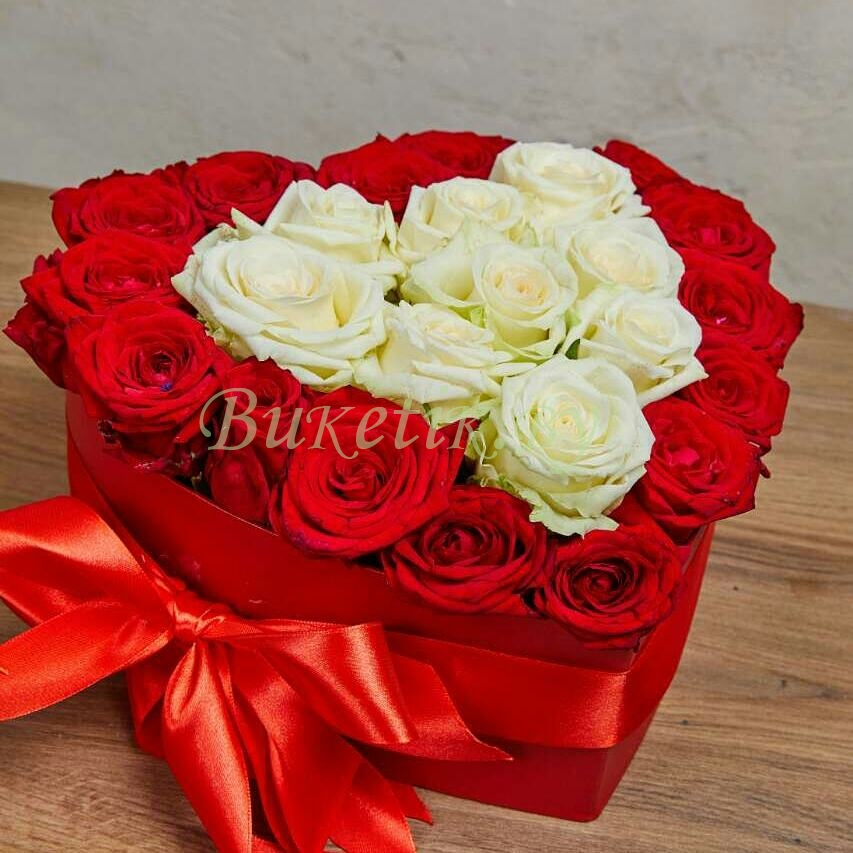 Композиция из роз для любимой