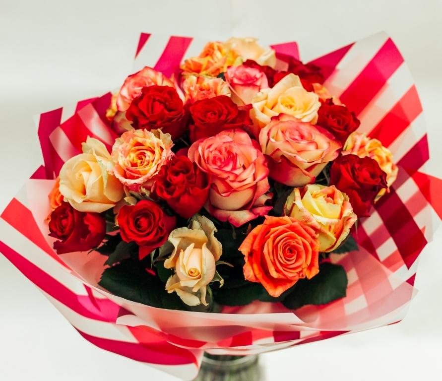 Букет из роз \