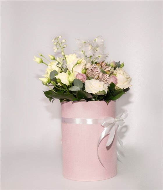 Нежно-розовая композиция