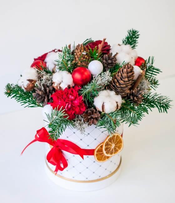 Рождественская композиция Прелесть Зимы
