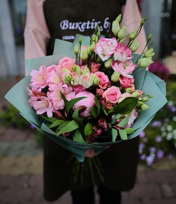 Букет Розовый бриз