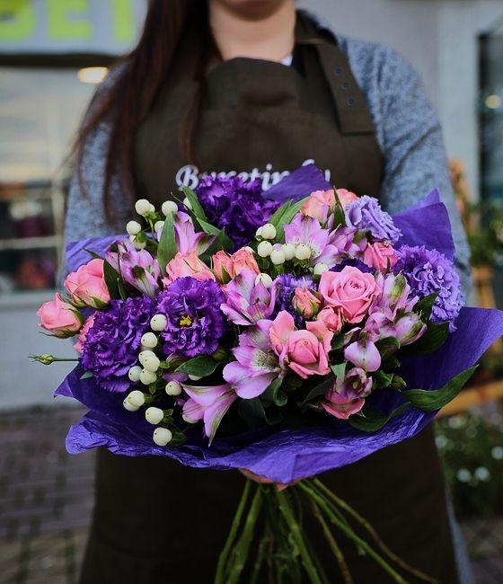 Букет Фиолетовая страсть