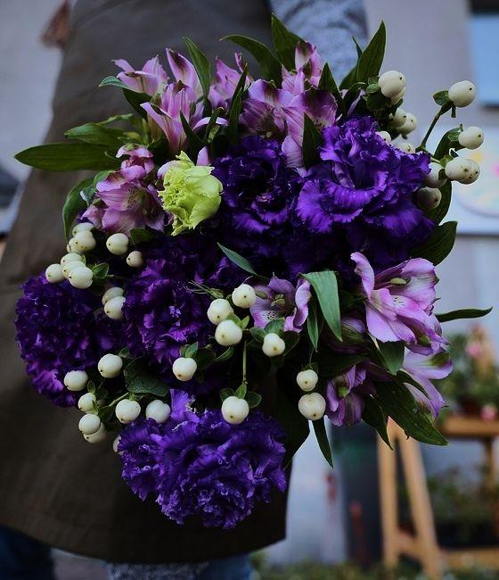 Букет Танец фиолет